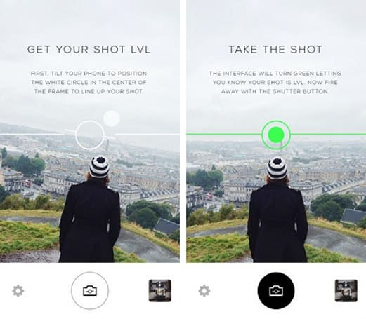 Daily iPhone App: LVL Cam allows you to take ruler-straight photos