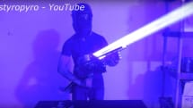 Look at this ridiculous 200-watt laser bazooka