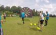 Footdarts: Engländer erfinden neuen Sport