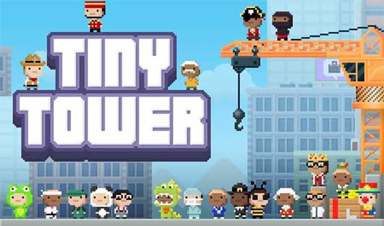 Tiny Tower mission pokes fun at Zynga and Dream Heights