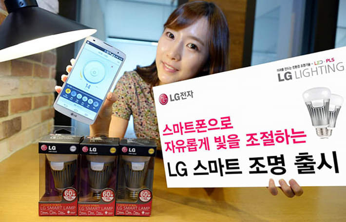 LG's first smart light bulb flashes when you get a phone call