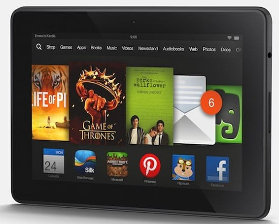 Amazon Prime is the first subscription video service with an offline option, on Kindle HDX
