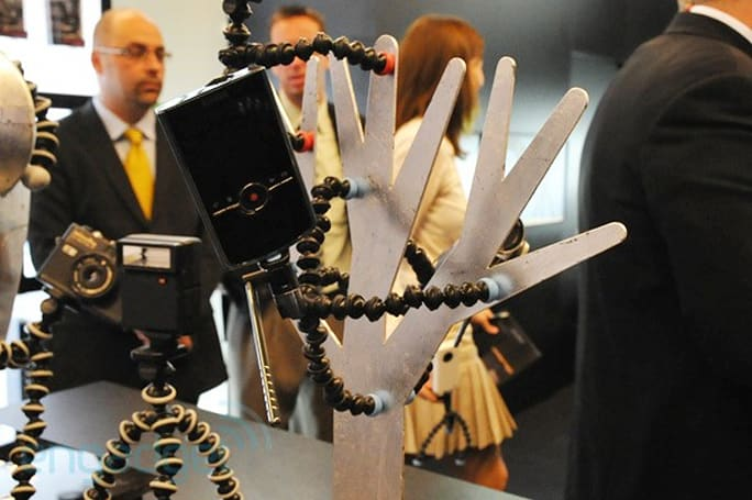 Joby's Gorillapod Video breaks cover at Photokina, complete with swivel arm