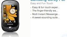 Samsung keeps rolling with Corby line, adds low-end Corby POP