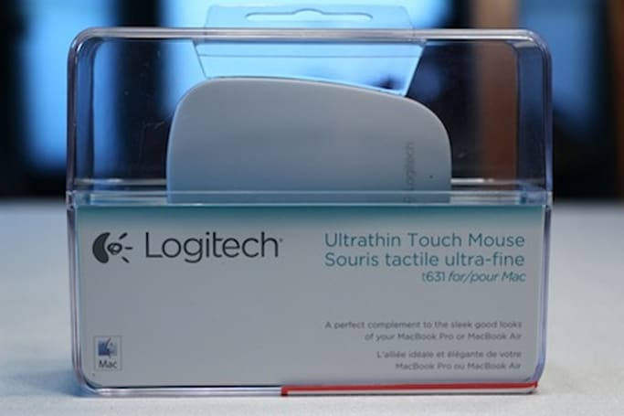 Hands-on with the Logitech Ultrathin Touch Mouse T631