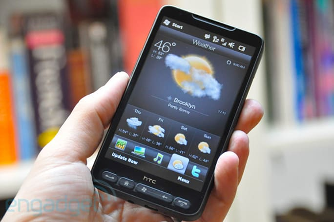 HTC's HD2 has landed at Engadget (hands-on)