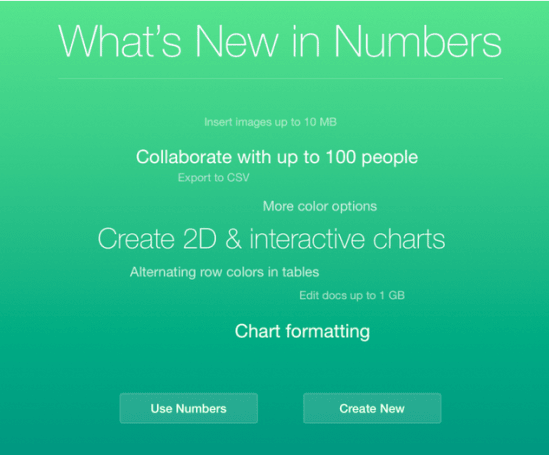 iWork for iCloud suite gets updated with new features