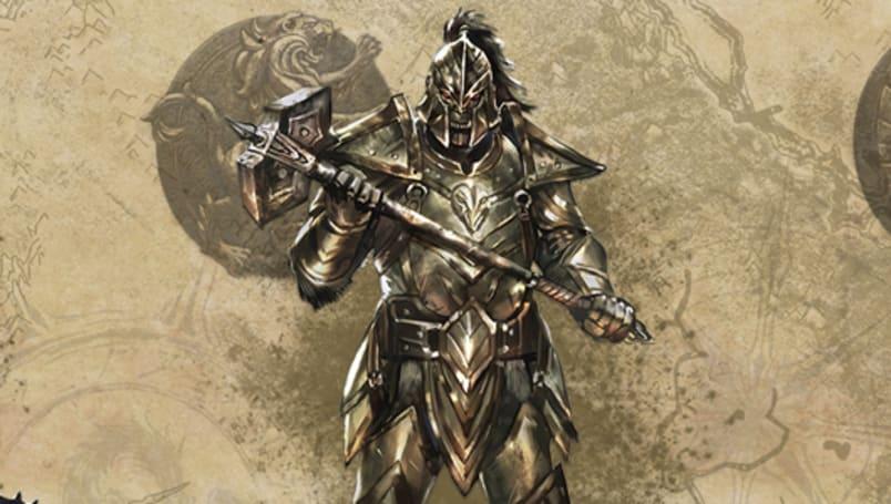 Elder Scrolls Online shows off heavy armor styles