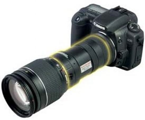 AstroScope 9350EOS-FF adds night vision to your Canon DSLR