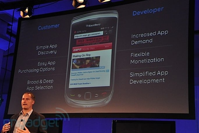 BlackBerry App World 2.0 leaves beta, includes cheaper apps and new payment options