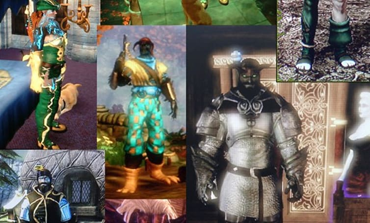 The many (many) faces of Fable 2's hero