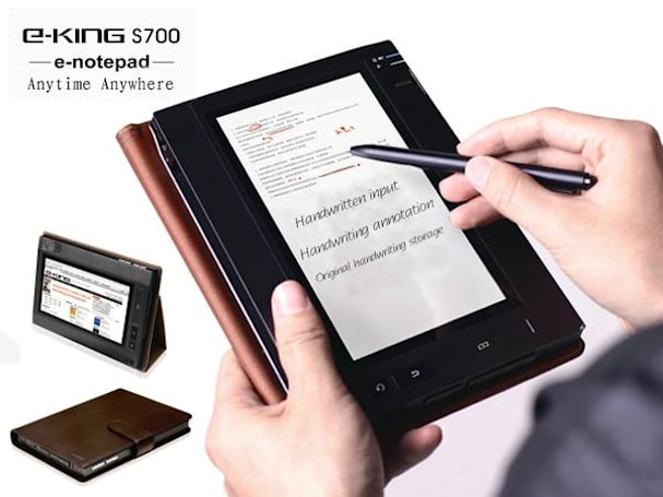 Eking's S700 E-notepad launches 'the era of color digital reading' with a stylus... and a dream (update)
