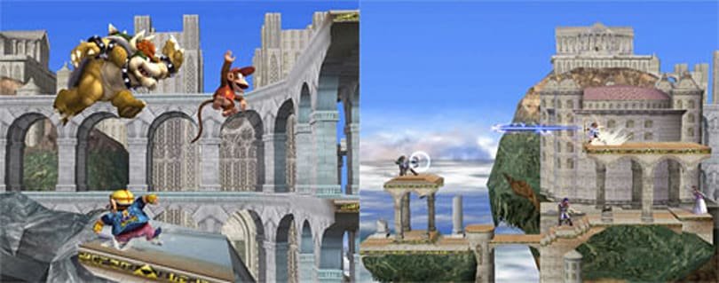 Classic Melee stages returning in Smash Bros. Brawl