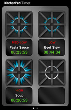 KitchenPad Timer helps with your Thanksgiving meal