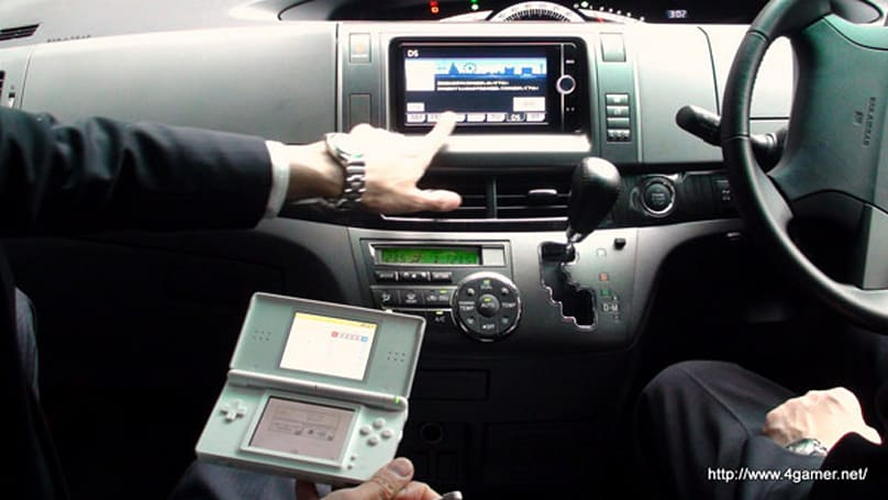 Toyota turns to Nintendo DS as in-car GPS remote, won't guide you to Princess Peach
