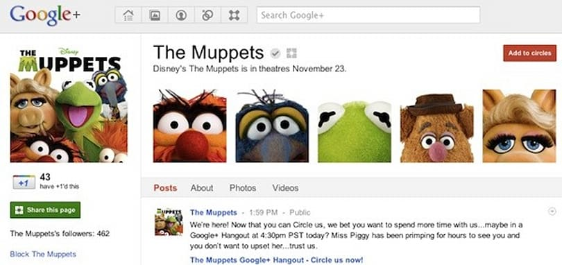 Google+ launches Pages for businesses and brands