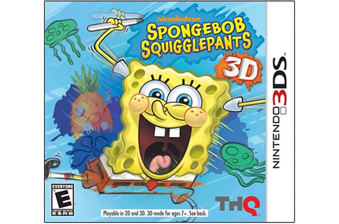 SpongeBob SquigglePants migrates to 3DS this May