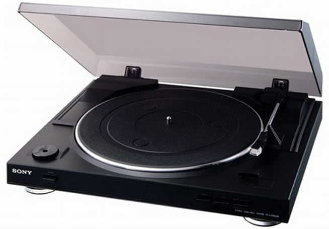 Sony announces PS-LX300USB USB turntable, ready to fight next format war against 8-track