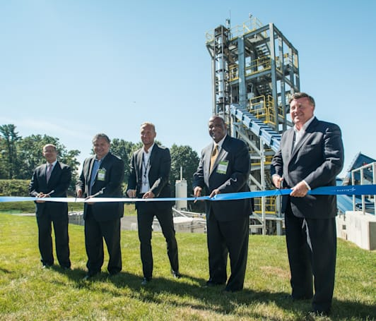 Lockheed Martin's bioenergy plant turns waste into clean power