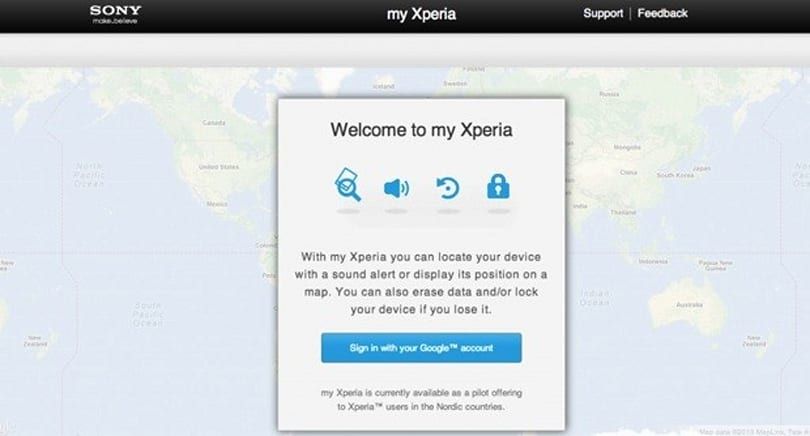Sony's My Xperia smartphone recovery service launches worldwide