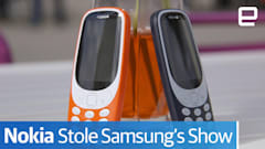 The Nokia 3310 stole Samsung's show at MWC 2017
