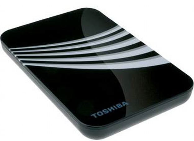Toshiba adds 500GB external hard drive to their line