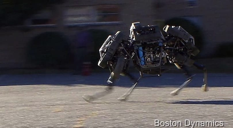 Boston Dynamics frees its four-legged sprinting robot: Cheetah becomes WildCat (video)