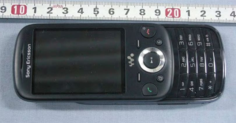 Sony Ericsson's Zylo slider earns FCC approval