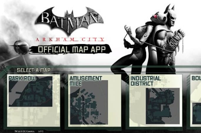 Arkham City gets an official mammal-with-webbed-wings app for iOS