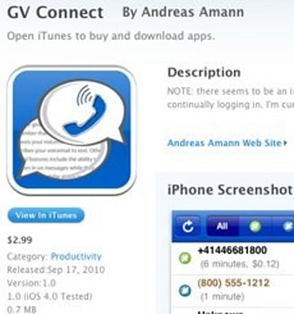 Google Voice apps returning to iPhone app store (update: they're here!)