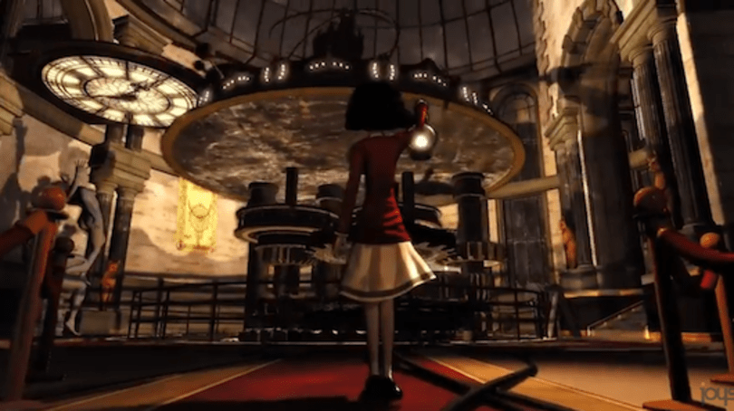 Cast a silhouette from the light of this Contrast trailer