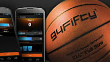 94Fifty smart basketball can tell when you've got game, teaches when you don't