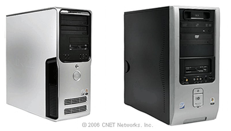 Core 2 Duo-powered Dell XPS 410 and HP Pavilion d4600y desktops announced, reviewed