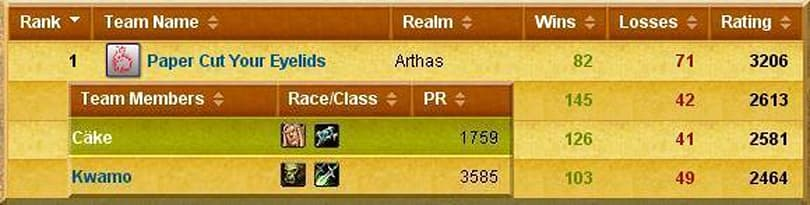 2v2 team hits 3206 team rating, 3585 personal rating