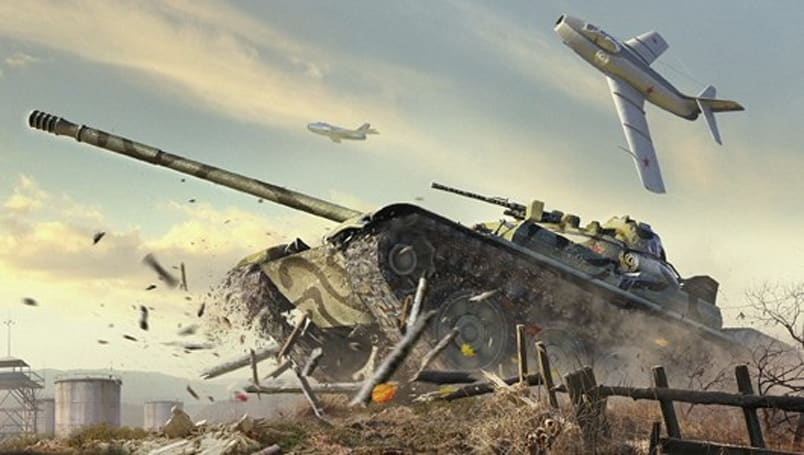 World of Tanks named online game of the year at Golden Joysticks