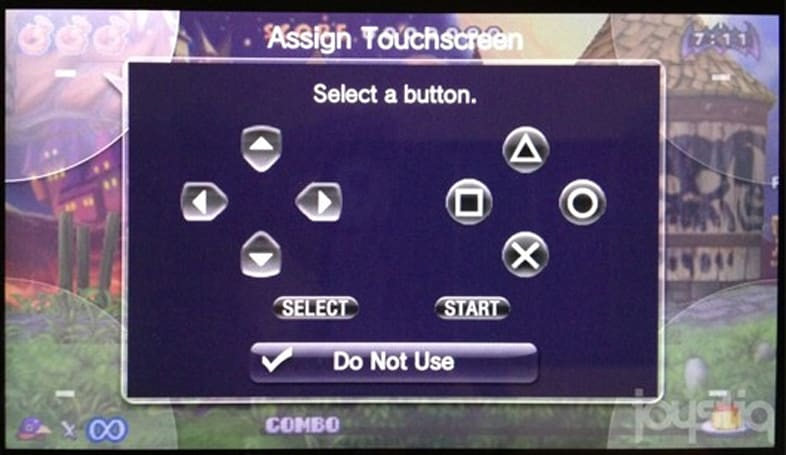 Vita firmware 1.80 adds optional touch controls for PSP games