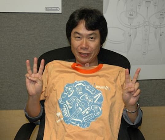 Shigeru Miyamoto back for round two -- nominated for 2008 Time 100
