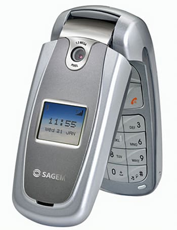 The my501C: Sagem adds a low-end clamshell