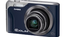 Casio Exilim EX-H10 gets new blue and gold outfits