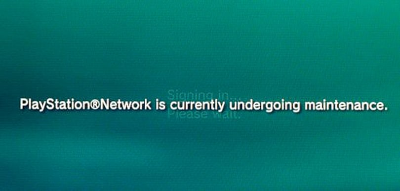 PSA: PlayStation Network goes down for maintenance from 9am EST