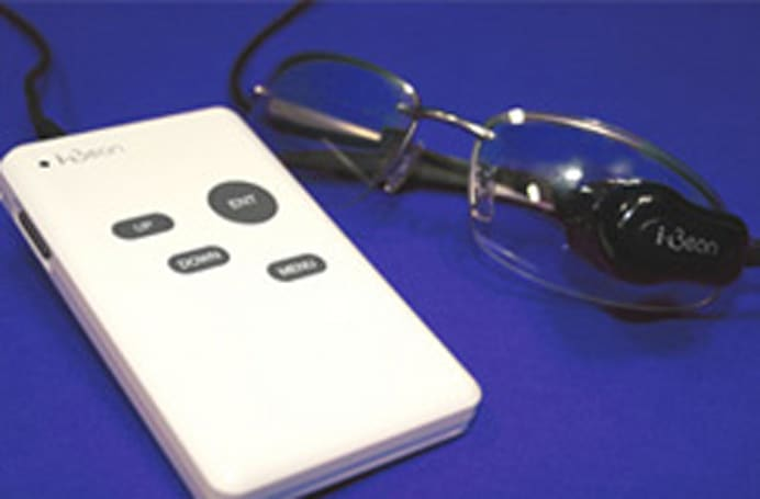i-Bean glasses provide mobile TV up close and personal