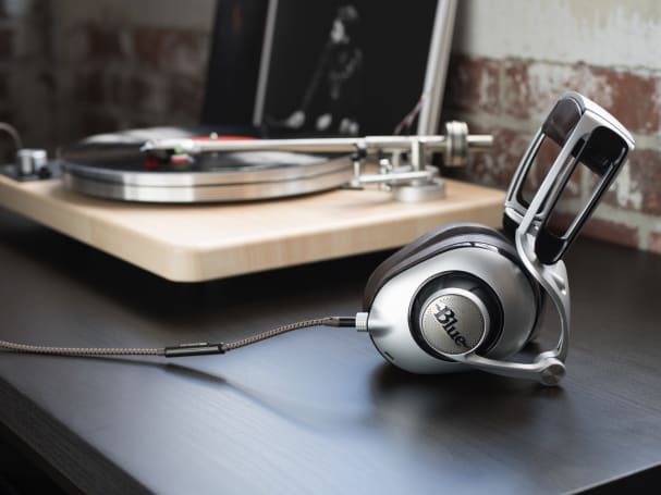 Blue's pricey planar magnetic headphones feature a built-in amp