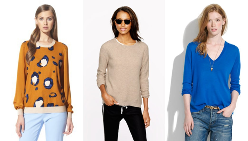 A few of our favorite fall sweaters