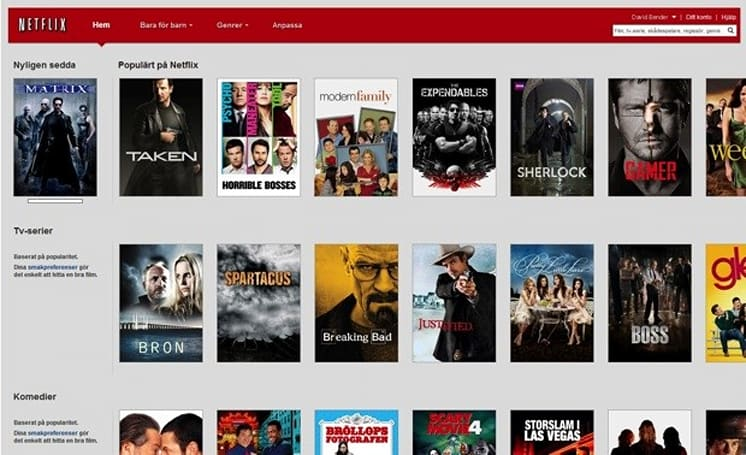 Netflix streaming launches in Sweden, lets you get your Bron on
