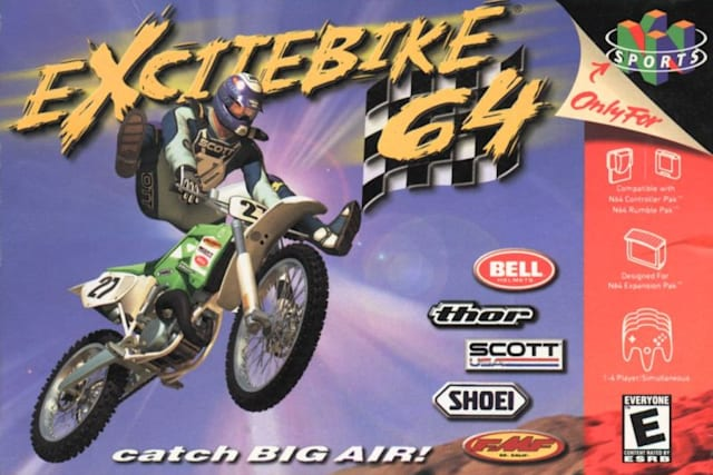 Nintendo classic 'Excitebike 64' skids its way onto Wii U