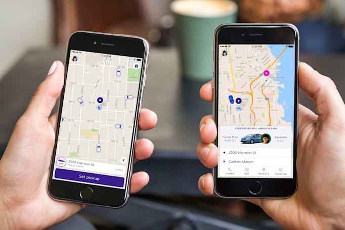 Lyft now books rides based on your calendar
