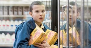 9 times eleven from stranger things was everyone s spirit animal