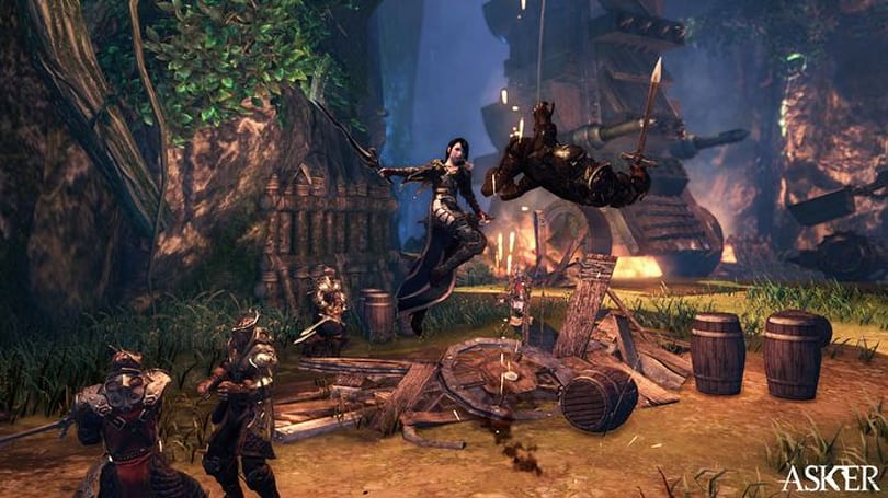 Korean action MMO Asker Online hits closed beta