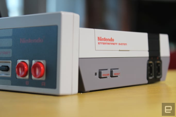 Nintendo sold 196,000 NES Classic Editions in November
