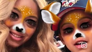 Beyoncé Shares Snapchat With Blue Ivy